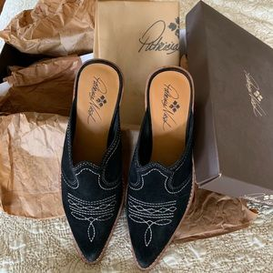 Patricia Nash Embroidered Loafers
